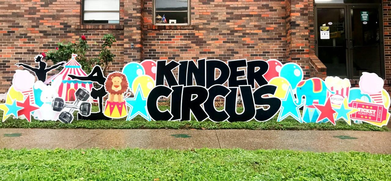 Big K Circus sign
